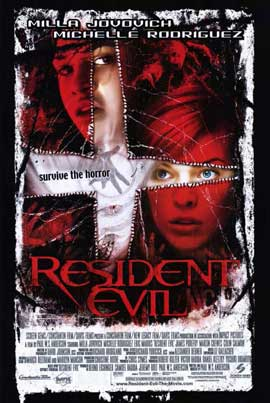 Resident Evil - 11 x 17 Movie Poster - Style C