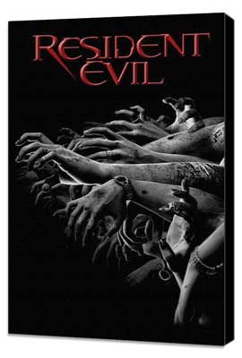 Resident Evil - 11 x 17 Movie Poster - Style E - Museum Wrapped Canvas