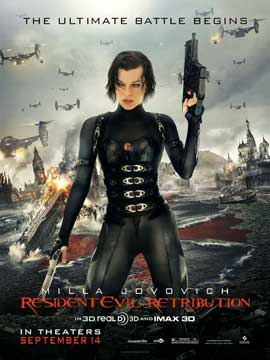 Resident Evil: Retribution - 27 x 40 Movie Poster
