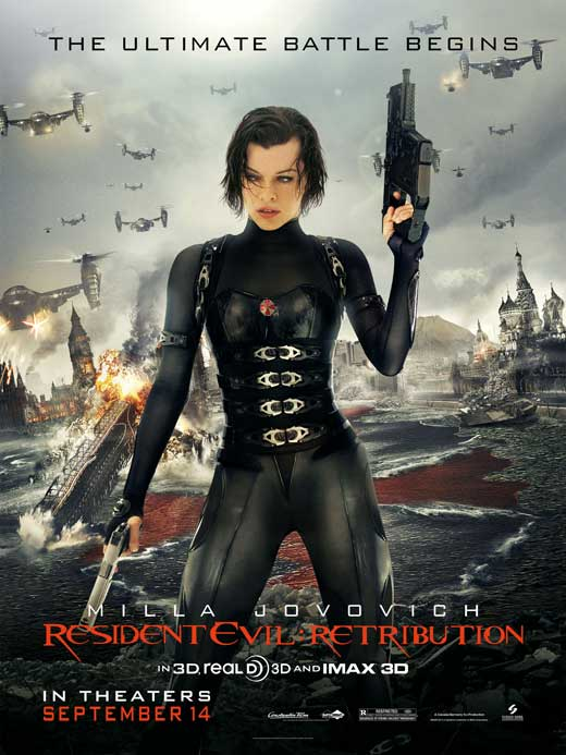 Resident Evil: Retribution Movie Posters From Movie Poster ...