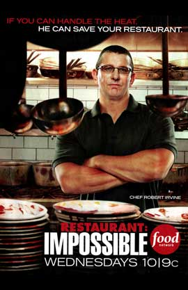 Restaurant Impossible (TV) - 11 x 17 TV Poster - Style A