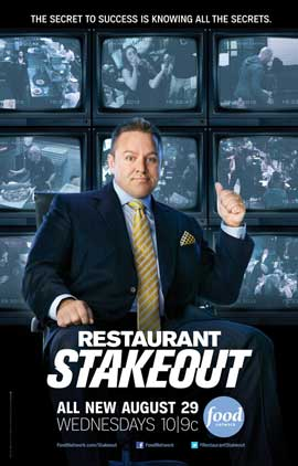 Restaurant Stakeout (TV) - 27 x 40 TV Poster - Style A
