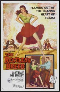 The Restless Breed - 27 x 40 Movie Poster - Style A