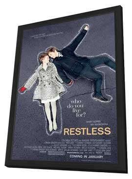 Restless - 11 x 17 Movie Poster - Style A - in Deluxe Wood Frame