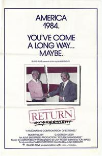 Return Engagement - 11 x 17 Movie Poster - Style A