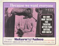 Return From the Ashes - 11 x 14 Movie Poster - Style A