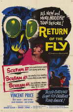 Return of the Fly - 11 x 17 Movie Poster - Style C
