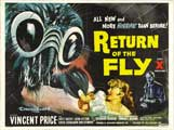 Return of the Fly - 30 x 40 Movie Poster UK - Style B