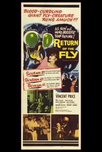 Return of the Fly - 14 x 36 Movie Poster - Insert Style A