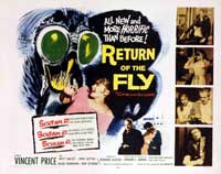 Return of the Fly - 30 x 40 Movie Poster - Style A