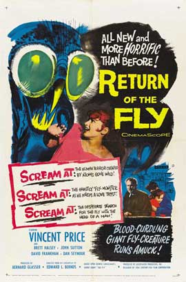 Return of the Fly - 27 x 40 Movie Poster - Style B