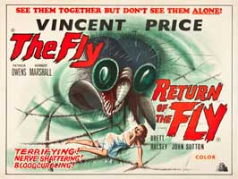 Return of the Fly - 11 x 14 Poster UK Style A