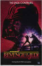 Return of the Jedi - 11 x 17 Movie Poster - Style A