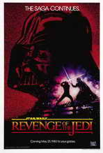 Return of the Jedi - 27 x 40 Movie Poster - Style G