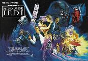 Return of the Jedi - 30 x 40 Movie Poster UK - Style A