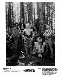 Return of the Jedi - 8 x 10 B&W Photo #17