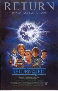 Return of the Jedi - 11 x 17 Movie Poster - Style B