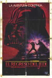 Return of the Jedi - 11 x 17 Movie Poster - Spanish Style A