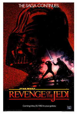 Return of the Jedi - 27 x 40 Movie Poster - Style A