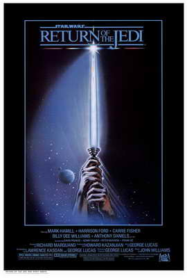 Return of the Jedi - 27 x 40 Movie Poster - Style D
