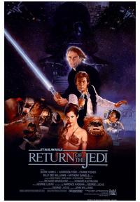 Return of the Jedi - 43 x 62 Movie Poster - Bus Shelter Style A
