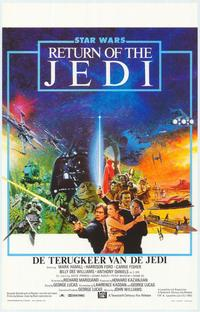 Return of the Jedi - 11 x 17 Movie Poster - Belgian Style A