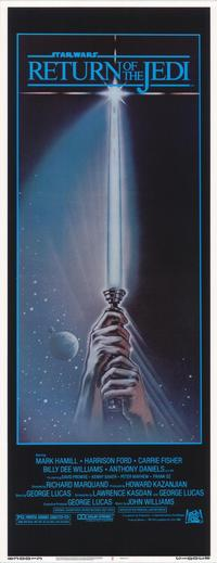 Return of the Jedi - 14 x 36 Gallery Print - Style A