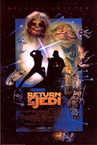 Return of the Jedi - 27 x 40 Movie Poster - Style F