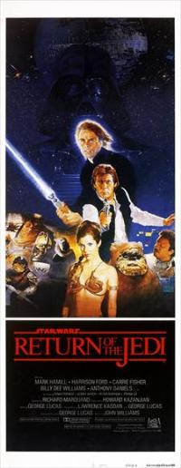 Return of the Jedi - 14 x 36 Movie Poster - Insert Style A