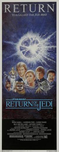Return of the Jedi - 14 x 36 Movie Poster - Insert Style B