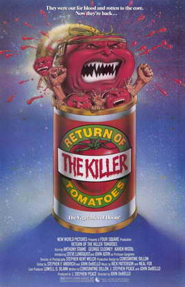 Return of the Killer Tomatoes! - 11 x 17 Movie Poster - Style A