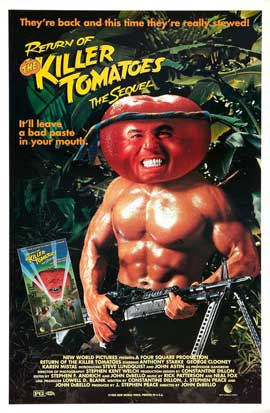 Return of the Killer Tomatoes! - 27 x 40 Movie Poster - Style B