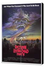 Return of the Living Dead 2 - 27 x 40 Movie Poster - Style A - Museum Wrapped Canvas