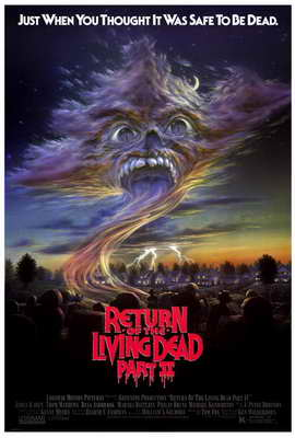 Return of the Living Dead 2 - 27 x 40 Movie Poster - Style A