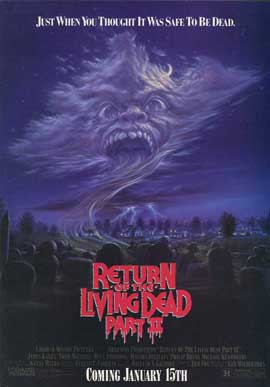 Return of the Living Dead 2 - 11 x 17 Movie Poster - Style B