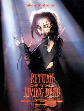 Return of the Living Dead 3 - 11 x 17 Movie Poster - Style B