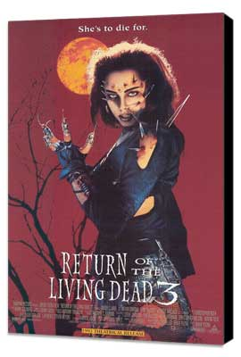 Return of the Living Dead 3 - 11 x 17 Movie Poster - Style A - Museum Wrapped Canvas