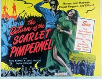 Return of the Scarlet Pimpernel - 11 x 14 Movie Poster - Style A