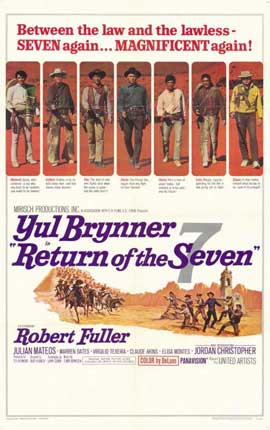 Return of the Magnificent Seven - 11 x 17 Movie Poster - Style A