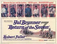 Return of the Magnificent Seven - 11 x 14 Movie Poster - Style A