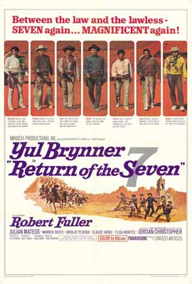 Return of the Magnificent Seven - 27 x 40 Movie Poster - Style A