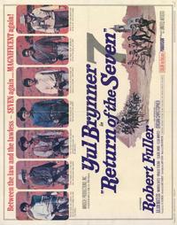 Return of the Magnificent Seven - 22 x 28 Movie Poster - Half Sheet Style A