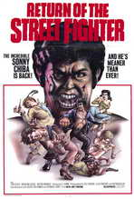 Return of the Streetfighter - 27 x 40 Movie Poster - Style A