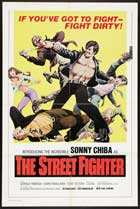 Return of the Streetfighter - 11 x 17 Movie Poster - Style B