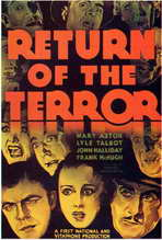 Return of the Terror - 11 x 17 Movie Poster - Style A