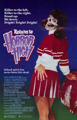Return to Horror High - 11 x 17 Movie Poster - Style B