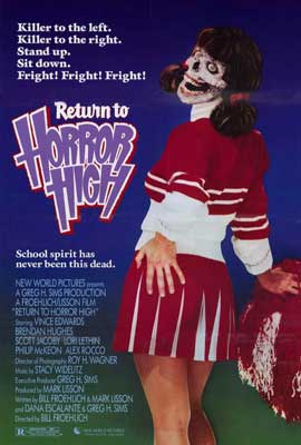 Return to Horror High - 27 x 40 Movie Poster - Style B
