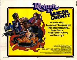 Return to Macon County - 11 x 14 Movie Poster - Style A
