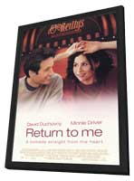 Return to Me - 27 x 40 Movie Poster - Style A - in Deluxe Wood Frame