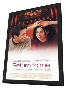 Return to Me - 11 x 17 Movie Poster - Style A - in Deluxe Wood Frame